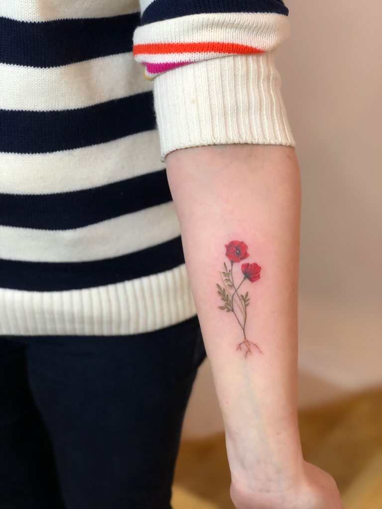 TATTOO – POPPY