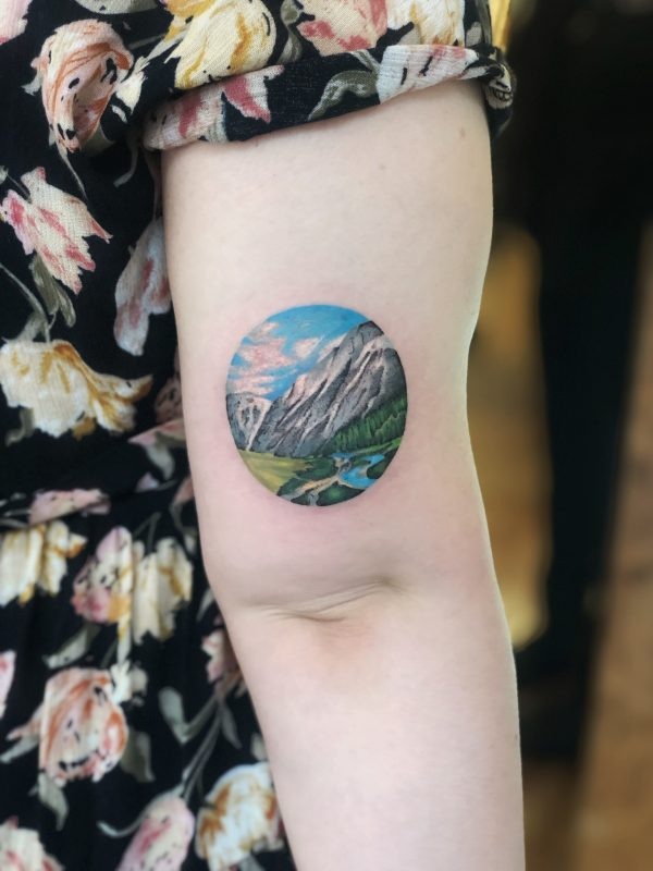 TATTOO – LANDSCAPE ARM