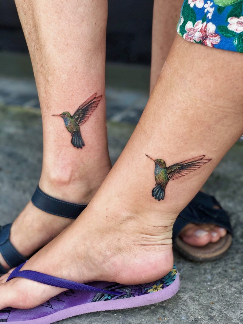 TATTOO – HUMMINGBIRDS
