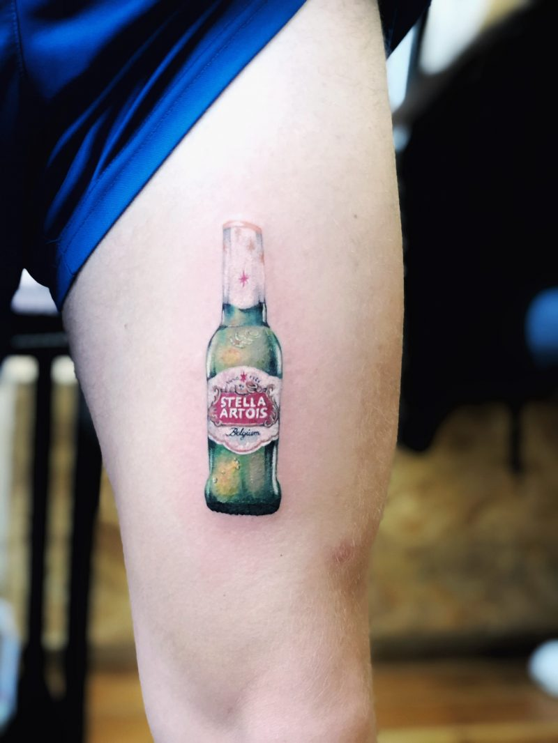 TATTOO – STELLA BOTTLE