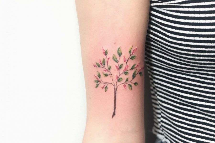 TATTOO – PINK TREE